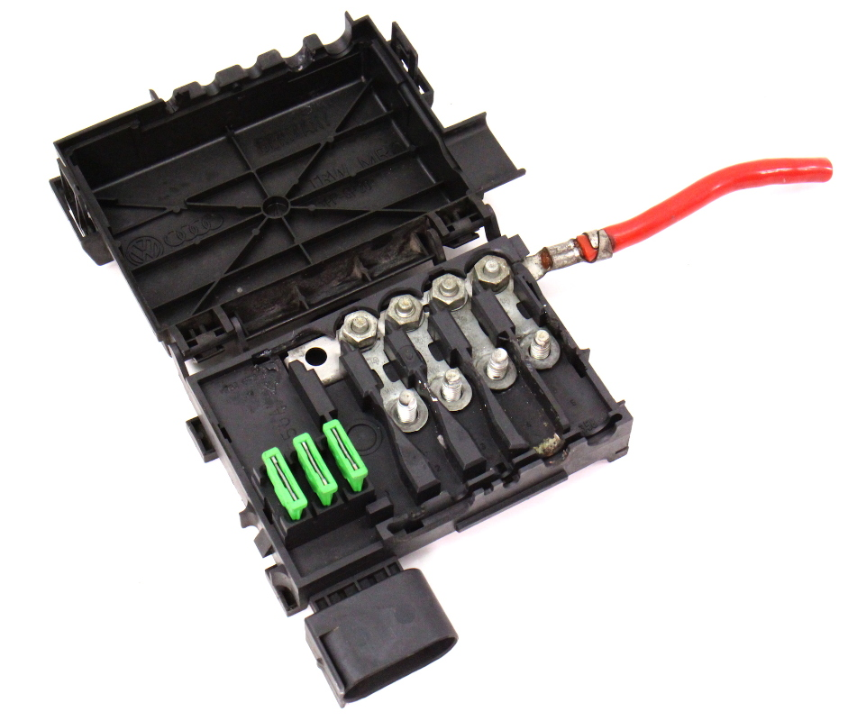 2001 volkswagen beetle battery fuse box battery distribution fuse box vw jetta golf gti beetle mk4 ...