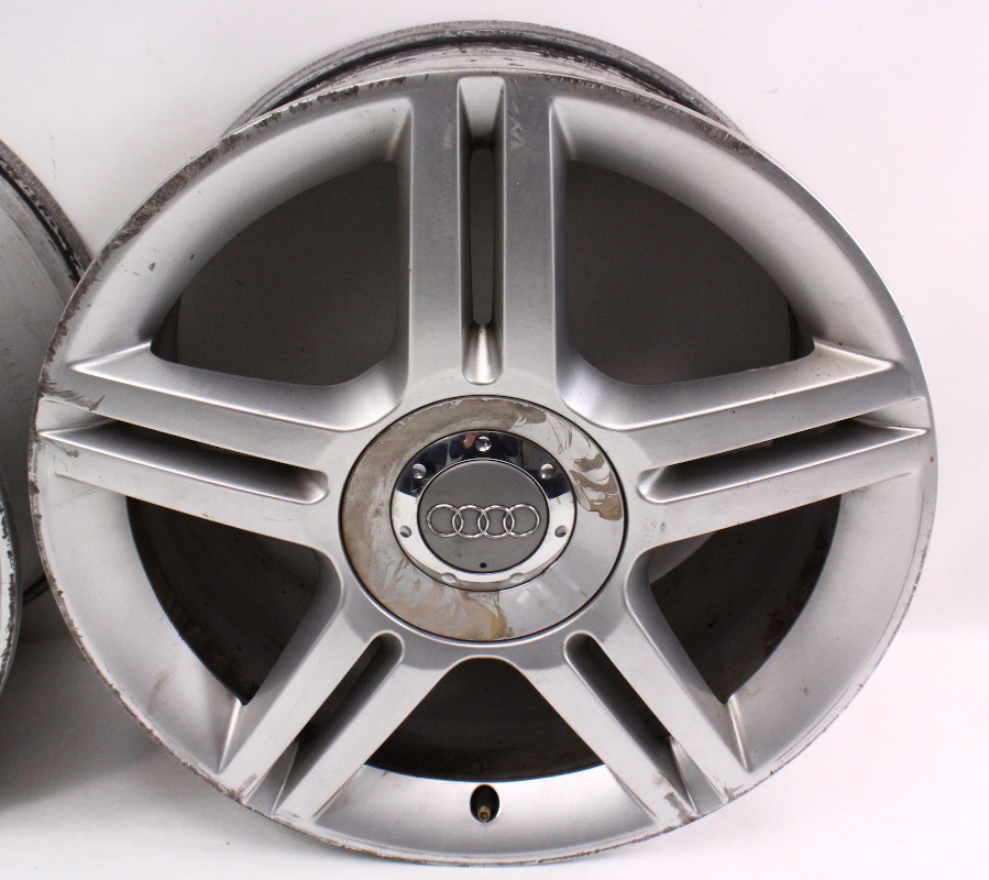 "Set Of Stock Alloy Wheels Rims 17"" 5x112 VW Audi A4 A6 B5"
