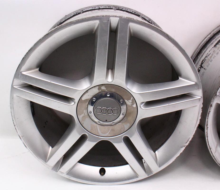 """Set Of Stock Alloy Wheels Rims 17"""" 5x112 VW Audi A4 A6 B5"""