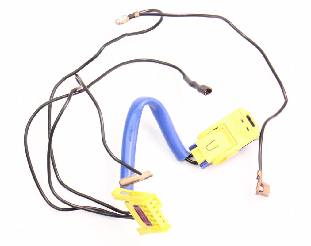 clock spring audi wiring diagram air bag airbag clock spring wiring harness 98-01 audi a6 ...
