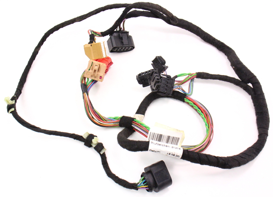cp038457 lh driver front door panel wiring harness 98 01 audi a6 c5 4b0 971 035 aj lh driver front door panel wiring harness 98 01 audi a6 c5 4b0  at suagrazia.org