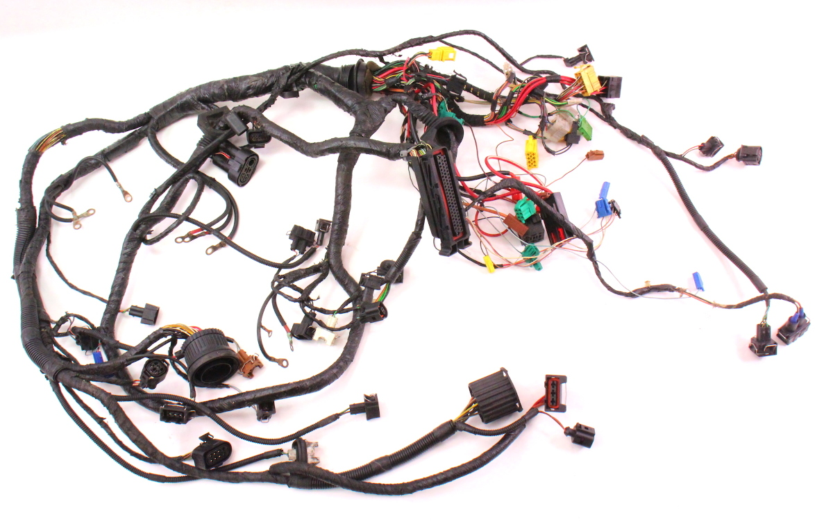 cp038936 engine bay ecu wiring harness 97 99 vw jetta golf mk3 19 tdi ahu diesel swap 276702566 ecu and wiring harness building a wiring harness from scratch mk4 golf wiring harness at crackthecode.co