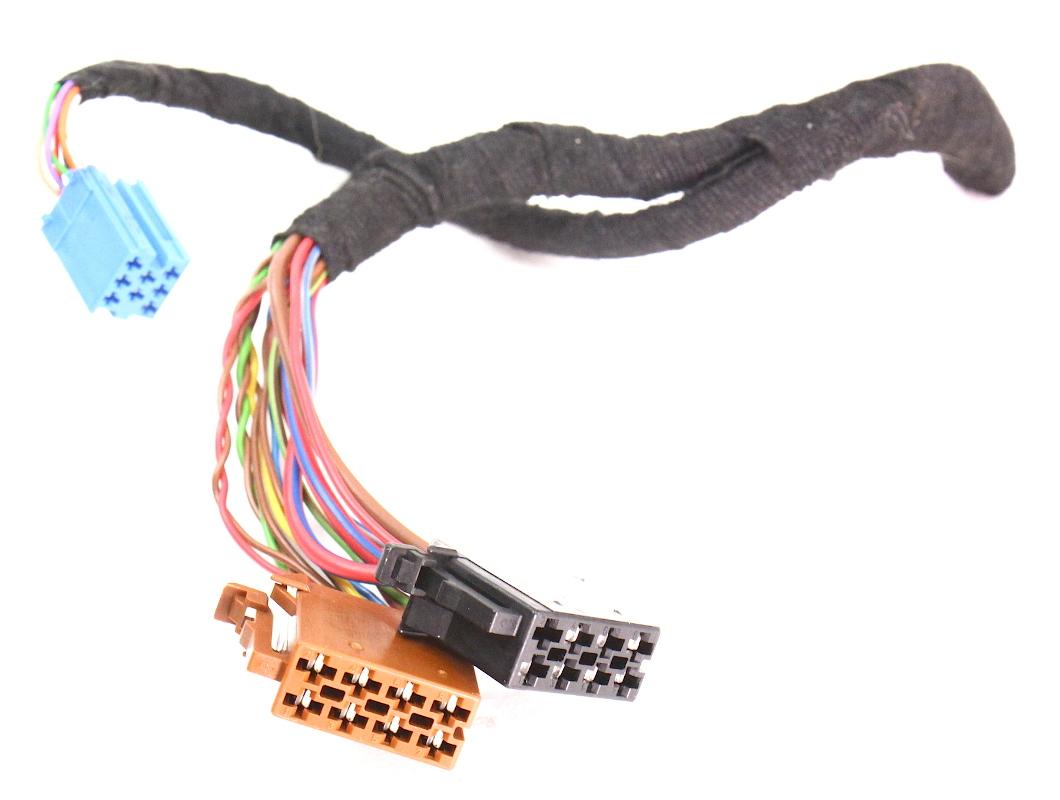 2004 jetta radio wiring diagram radio wiring plugs pigtail vw passat 98-05 b5 b5.5 jetta ...