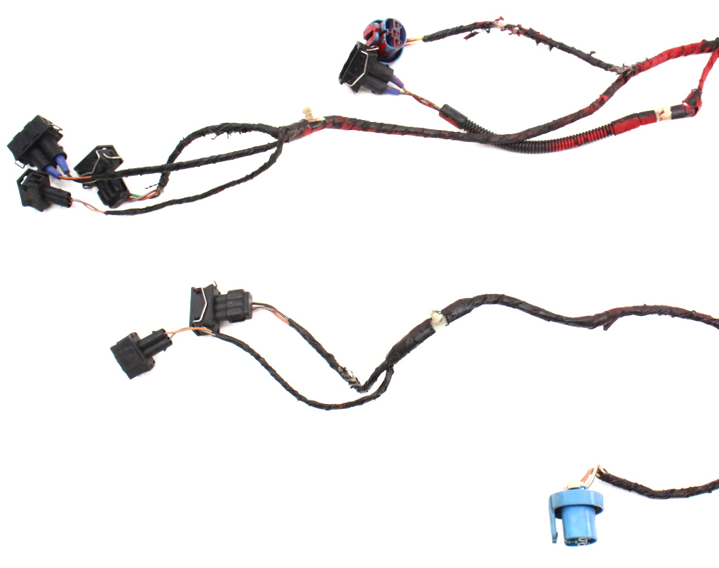 cp039291 headlight wiring harness non fog 93 99 vw jetta golf cabrio mk3 genuine 2 headlight wiring harness non fog 93 99 vw jetta golf cabrio mk3 vw jetta headlight wiring harness at mifinder.co