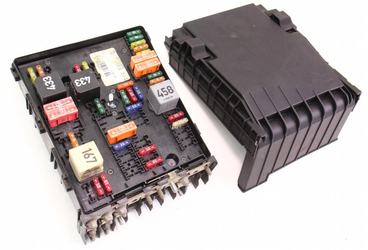 05 volkswagen jetta fuse box 2002 volkswagen jetta fuse box engine bay fuse relay box 05-07 vw jetta rabbit mk5 2.5 ... #15