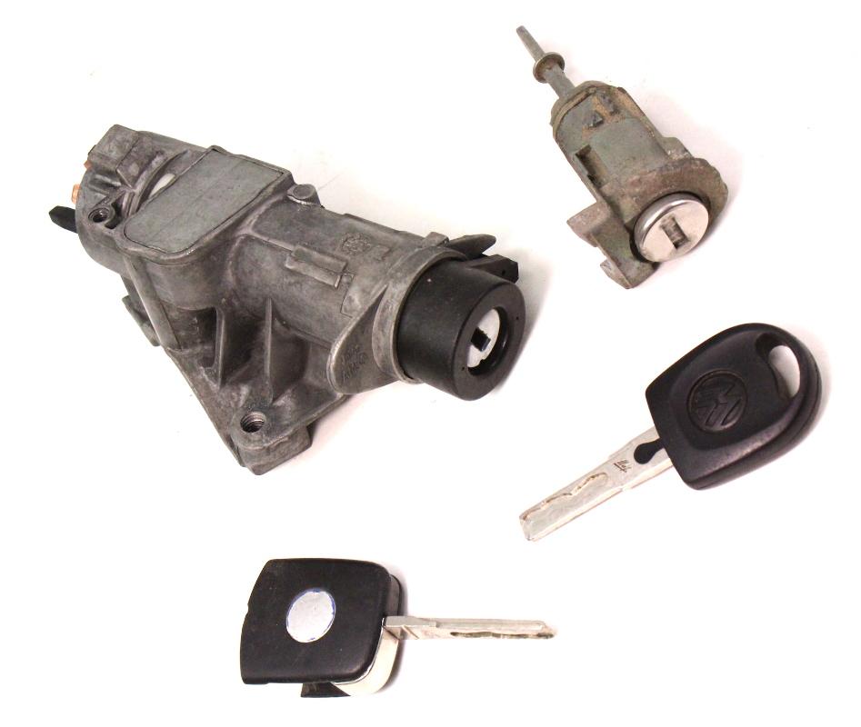 2001 Vw Beetle Ignition Key: Lock Key Set Ignition Door Handle 99-05 VW Jetta Golf GTI