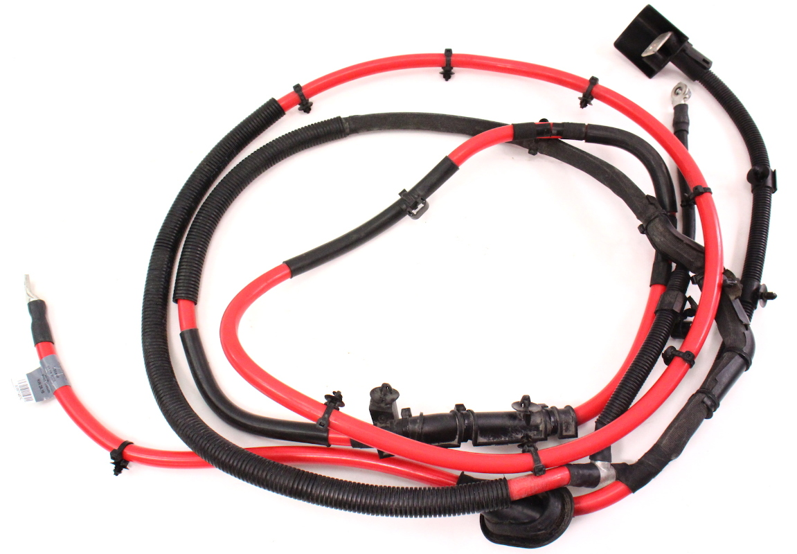 cherokee battery wiring harness trunk battery cable wiring harness 06-10 vw passat b6 ...