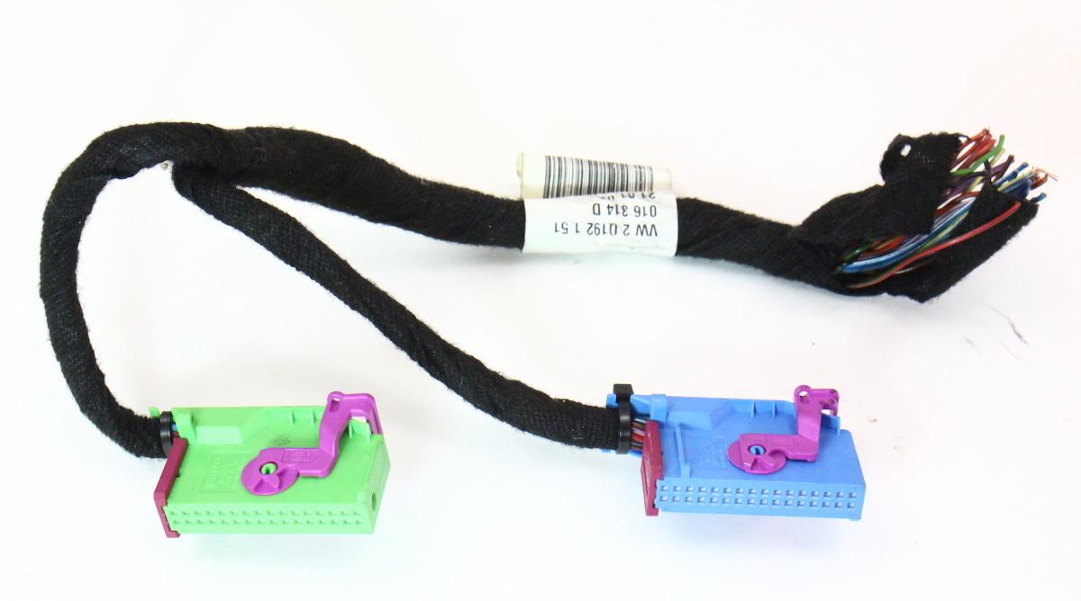 Gauge Cluster Speedometer 04 06 Vw Phaeton Connectors Wiring Harness Plugs Pigtails