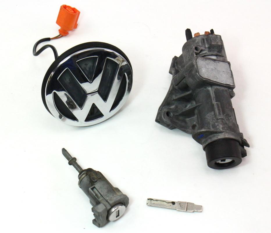 2001 Vw Beetle Ignition Key: Lock Key Set Ignition Trunk 99-05 VW Jetta MK4 MT AT