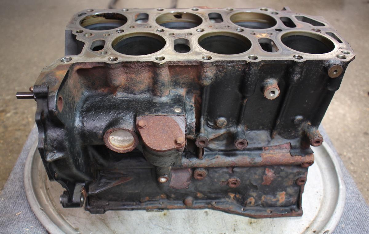 engine cylinder block 2 8 12v vr6 afp 99 05 vw jetta gti. Black Bedroom Furniture Sets. Home Design Ideas