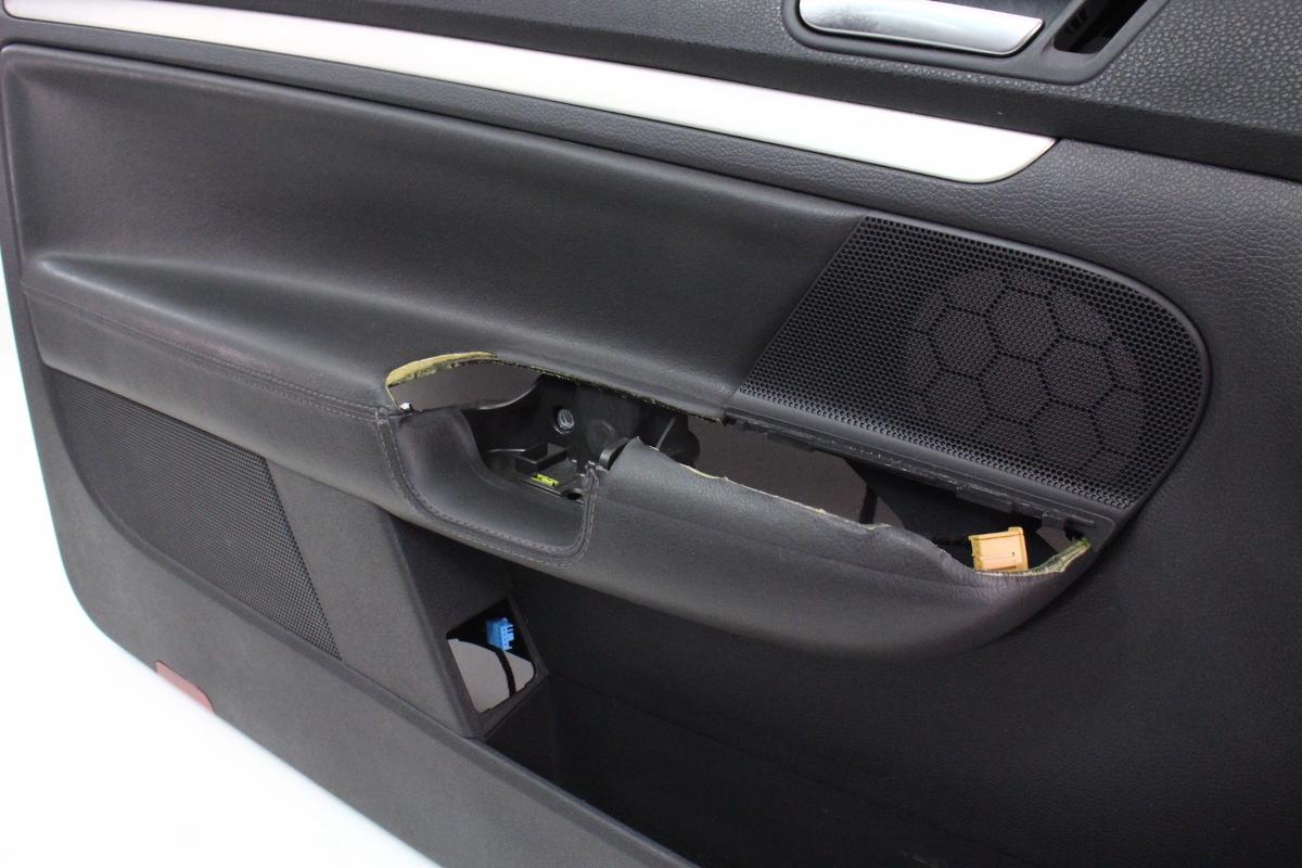 driver front interior door panel card   vw golf gti rabbit mk dr genuine carpartssale