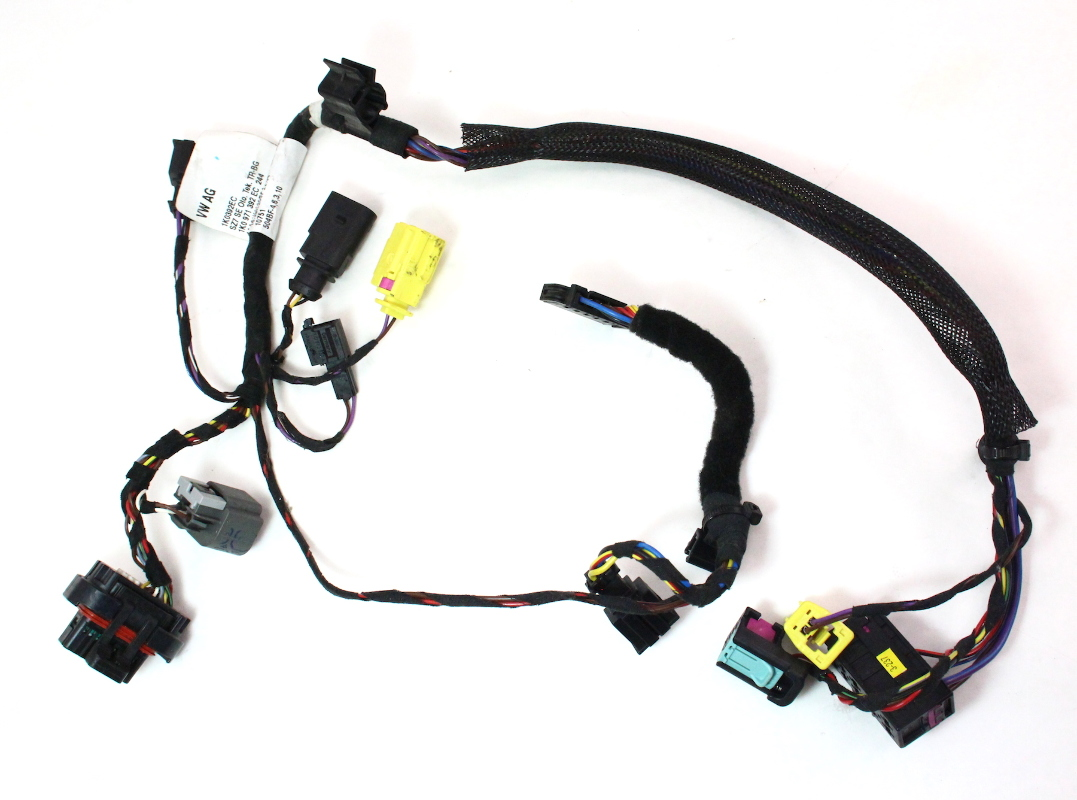 rh front seat wiring harness 06 09 vw rabbit gti mk5 side air bag 1k0 971 392 ec carparts4sale