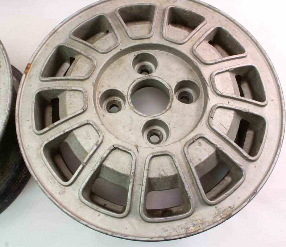 alloy aluminum wheels rims set   vw scirocco mk genuine original stock carpartssale