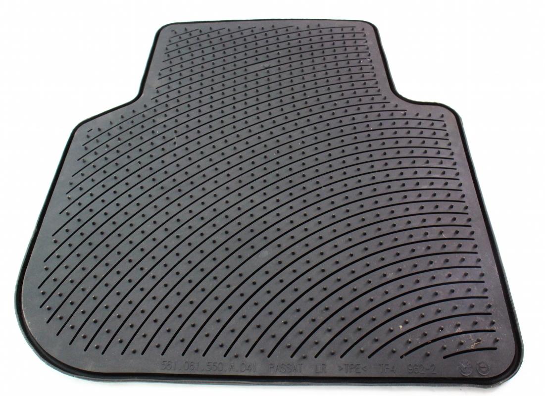Rubber floor mats vw passat -