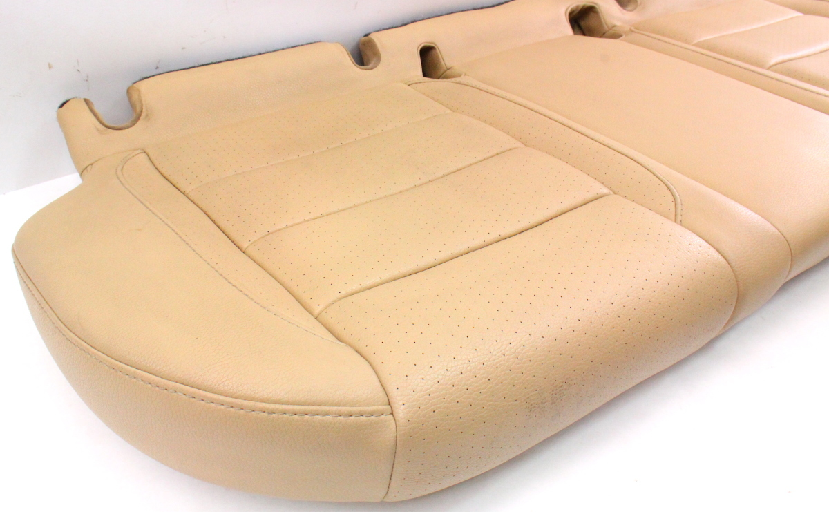 Rear Back Bench Seat Lower Cushion Leather 05 10 Vw Jetta Mk5 Beige Genuine Carparts4sale