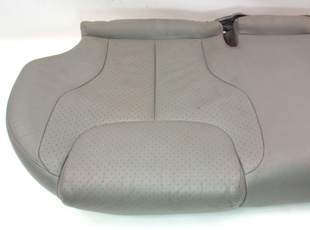 Back Rear Seat Cushion Bench Grey Leather 06 10 Vw Passat