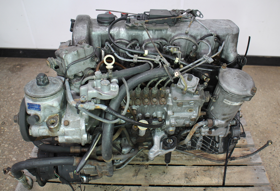 om617 951 mercedes turbo diesel complete engine block w126 w123 300d 300sd ebay