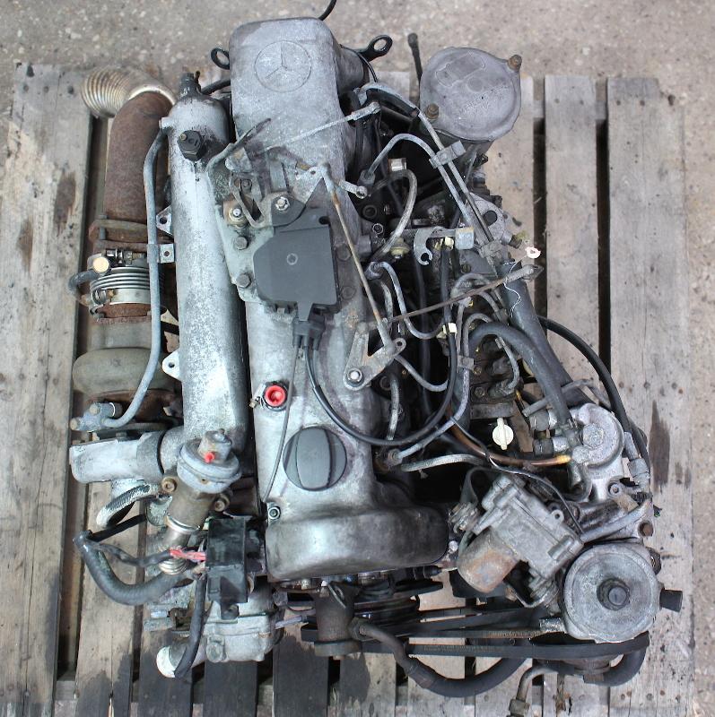 om617 951 mercedes turbo diesel complete engine block w126 w123 300d 300sd ebay