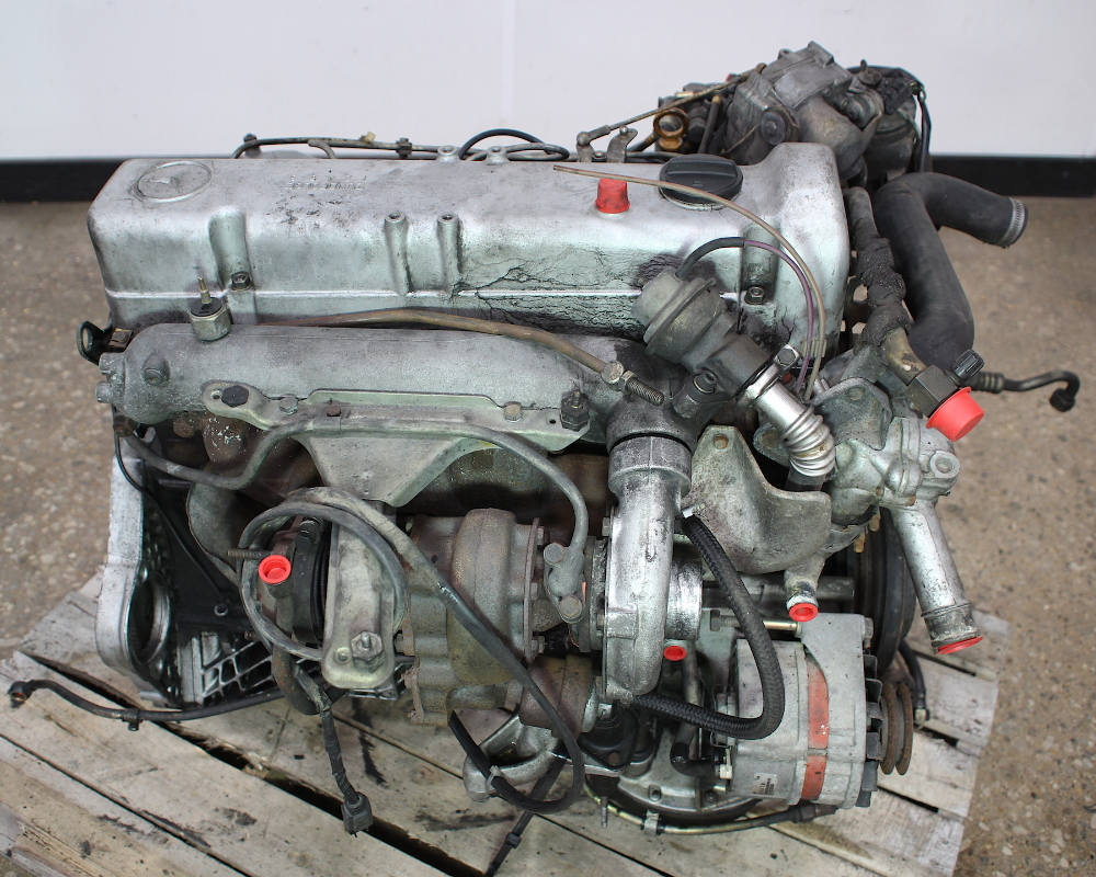 om617 951 mercedes turbo diesel complete engine block w126 w123 300d ebay