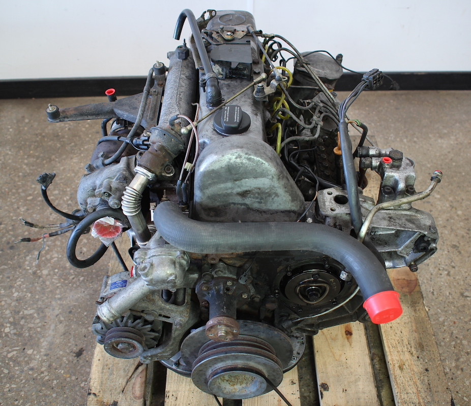 om617 952 mercedes turbo diesel complete engine block w126 w123 300cd 300d ebay