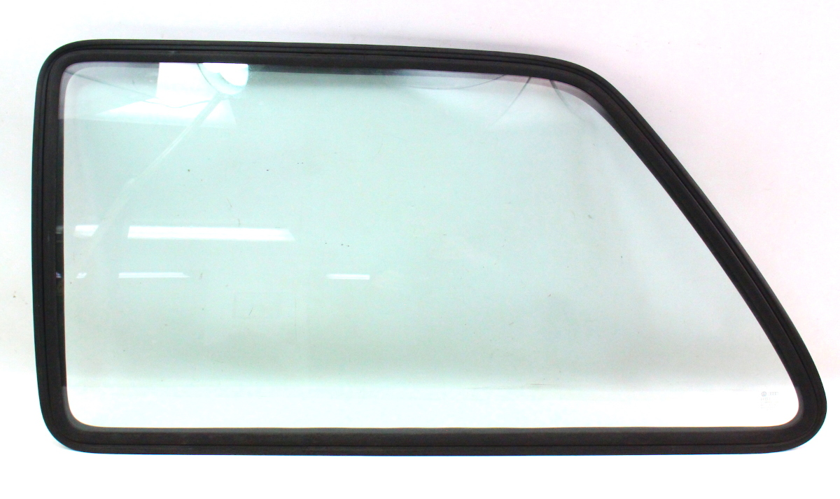 Lh rear side window quarter glass seal 85 92 vw golf gti for Back door with window that opens