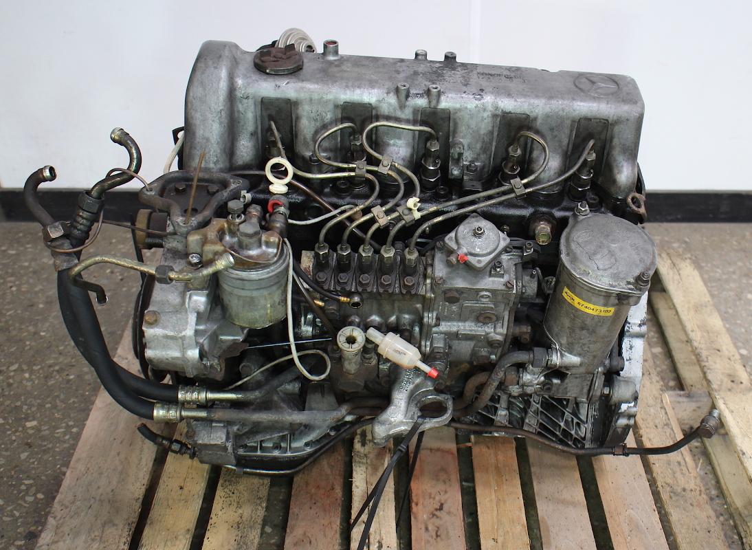 om617 951 mercedes turbo diesel complete engine long block w126 w123 300d carparts4sale inc. Black Bedroom Furniture Sets. Home Design Ideas