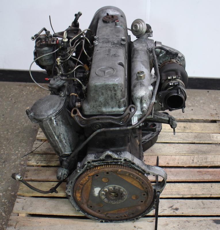 Om617 951 mercedes turbo diesel complete engine long block for Mercedes benz turbo diesel