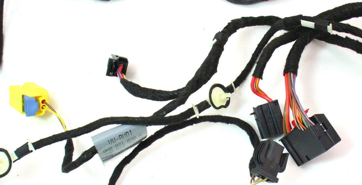 cp042500 rh front door wiring harness 09 12 audi a4 s4 b8 genuine 8k0 971 036 030 k 3 rh front door wiring harness 09 12 audi a4 s4 b8 genuine 8k0 971 2010 Audi A3 at soozxer.org