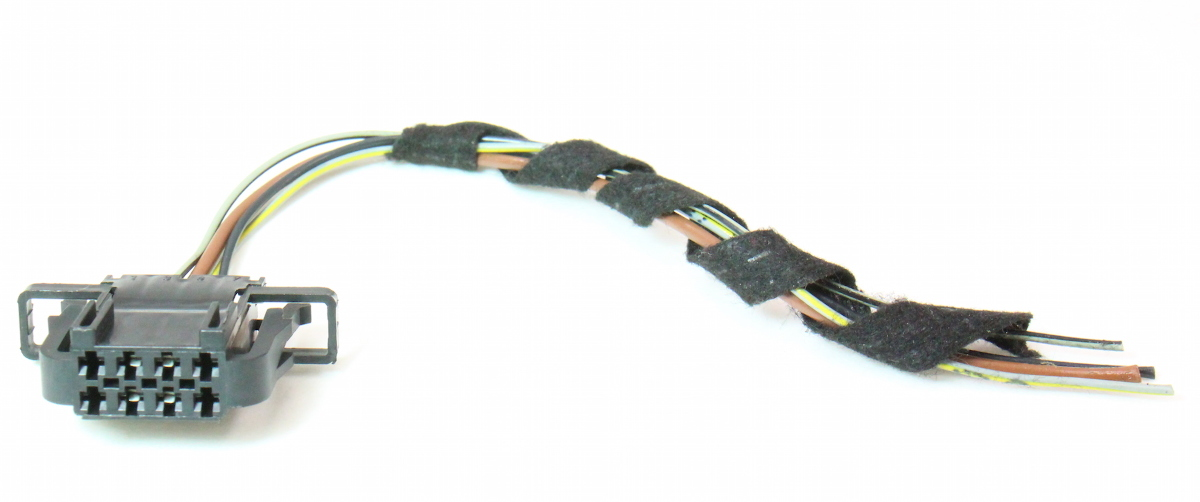 Tail Light Lamp Wiring Harness Pigtail Plug 09-12 Audi A4 B8