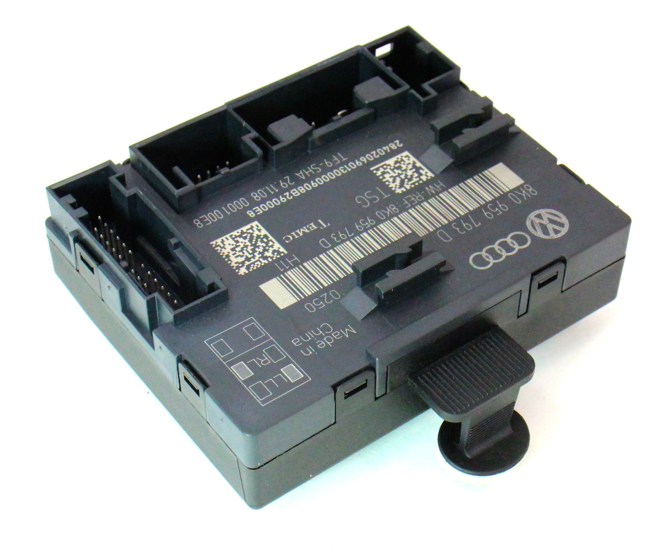 Lh front door control module 09 12 audi a4 b8 genuine for 01333 door control module