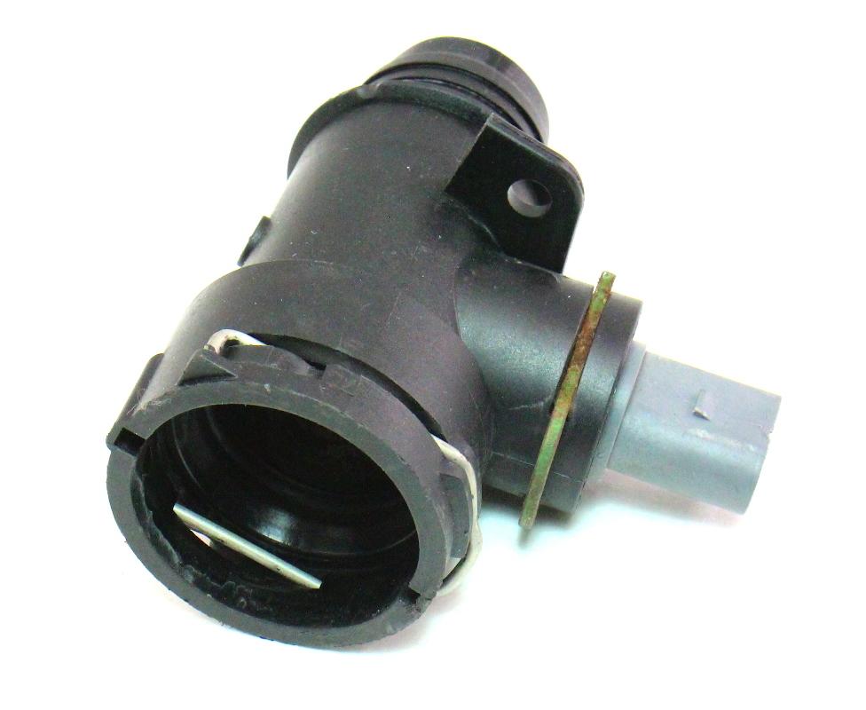 Used Audi A3 For Sale >> Lower Radiator Coolant Hose Flange & Sensor 06-10 VW ...
