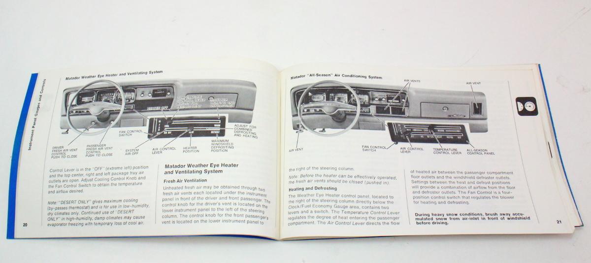 owners manual instruction book 1975 amc gremlin hornet matador rh carparts4sale com owners manual mccormick f90 owners manual macgregor 26