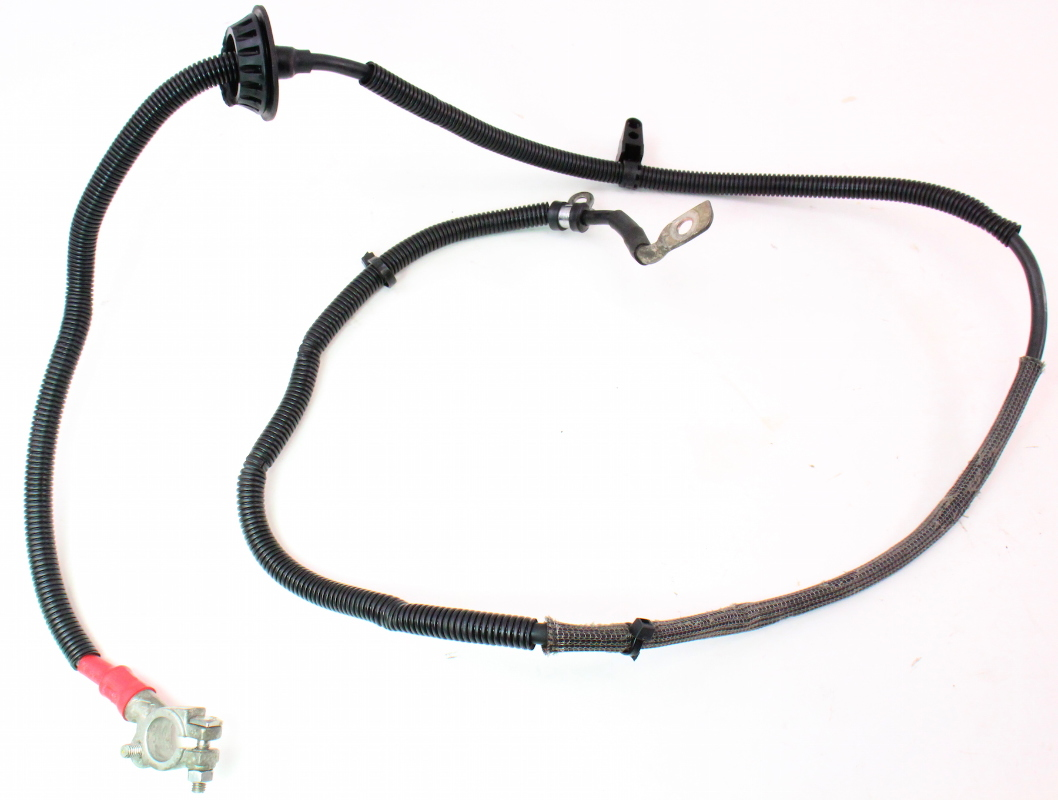 positive battery cable terminal wiring harness 05 08 audi a4 b7 2 0t genuine ebay