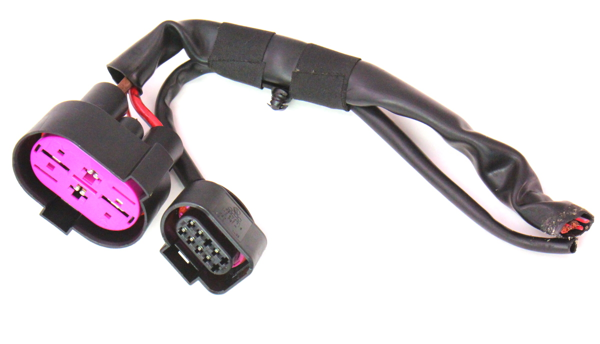 Fan Control Module Wiring Harness Pigtail Plug 05