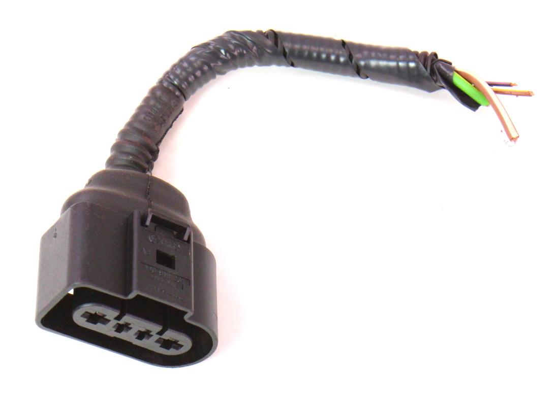 Fuel Pump Wiring Harness Pigtail Plug 05-08 Audi A4 B7 - Genuine