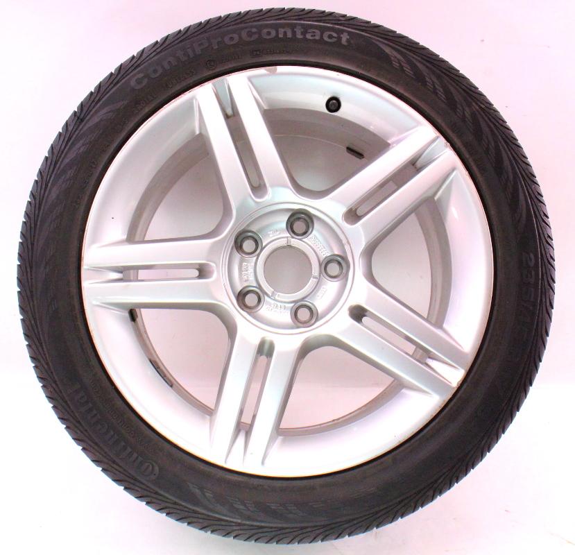 full size spare alloy wheels rim with tire 17 5x112 audi a4 b7 8e0 601 025 as carparts4sale. Black Bedroom Furniture Sets. Home Design Ideas