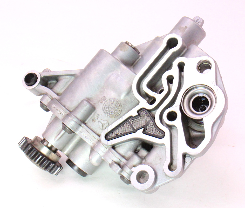 Engine oil pump 09 12 audi a4 b8 a5 2 0t caeb genuine 06h 115 105 bf carparts4sale inc Audi a5 motor oil