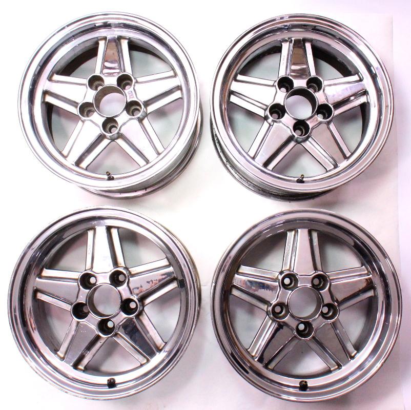 "5x120 Ronal R9 Penta Wheels Rims For BMW 16"" X 7"" ET23"
