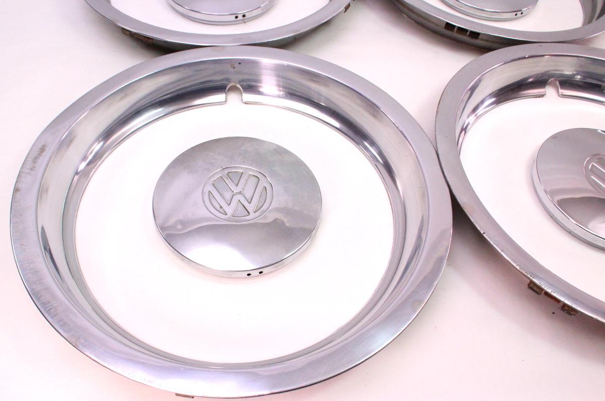 Volkswagen Of America >> Chrome Wheel Center Hub Cap Hubcap Set w/ Beauty Rings 75 ...