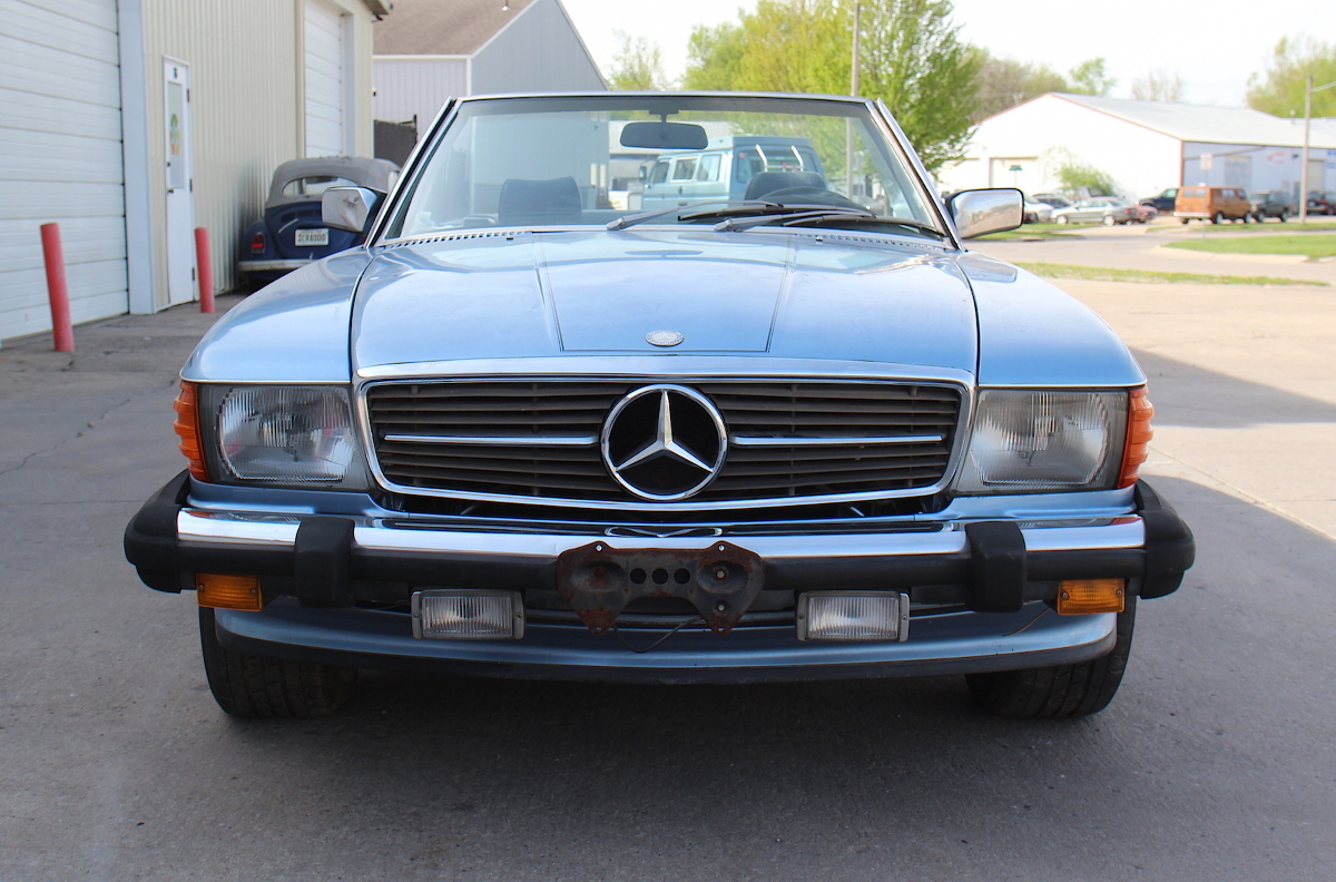 1985 mercedes benz 380sl r107 convertible roadster needs