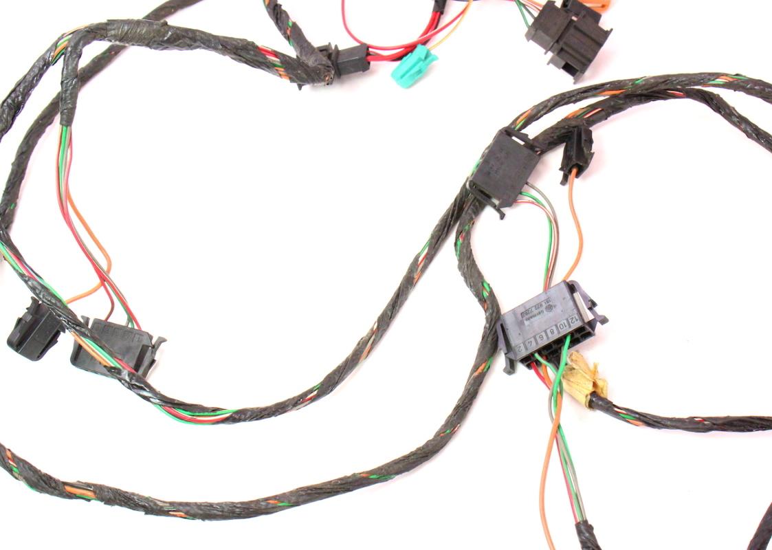 security wire harness alarm module wiring harness 93-99 vw jetta golf gti cabrio ...