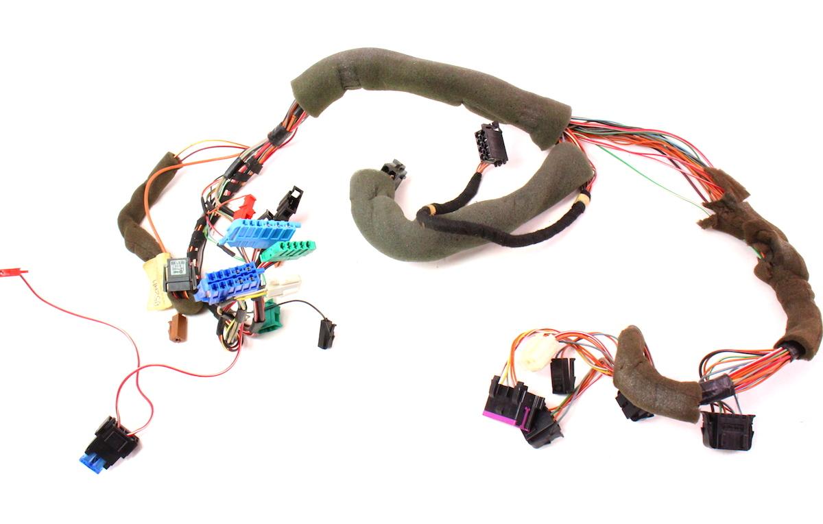 dash wiring harness vw jetta golf gti cabrio mk3 obd port. Black Bedroom Furniture Sets. Home Design Ideas