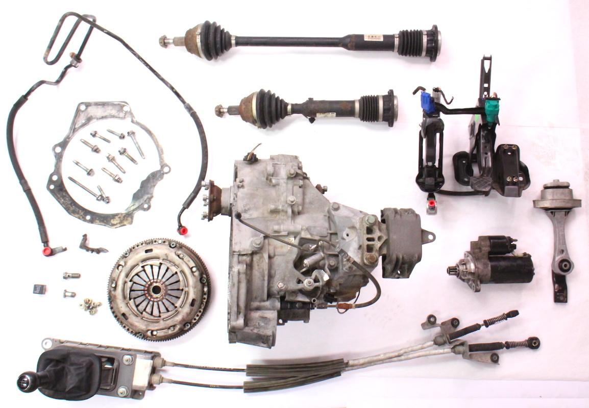 6 Speed Manual Transmission Swap Parts Kit 99-05 VW Jetta ...