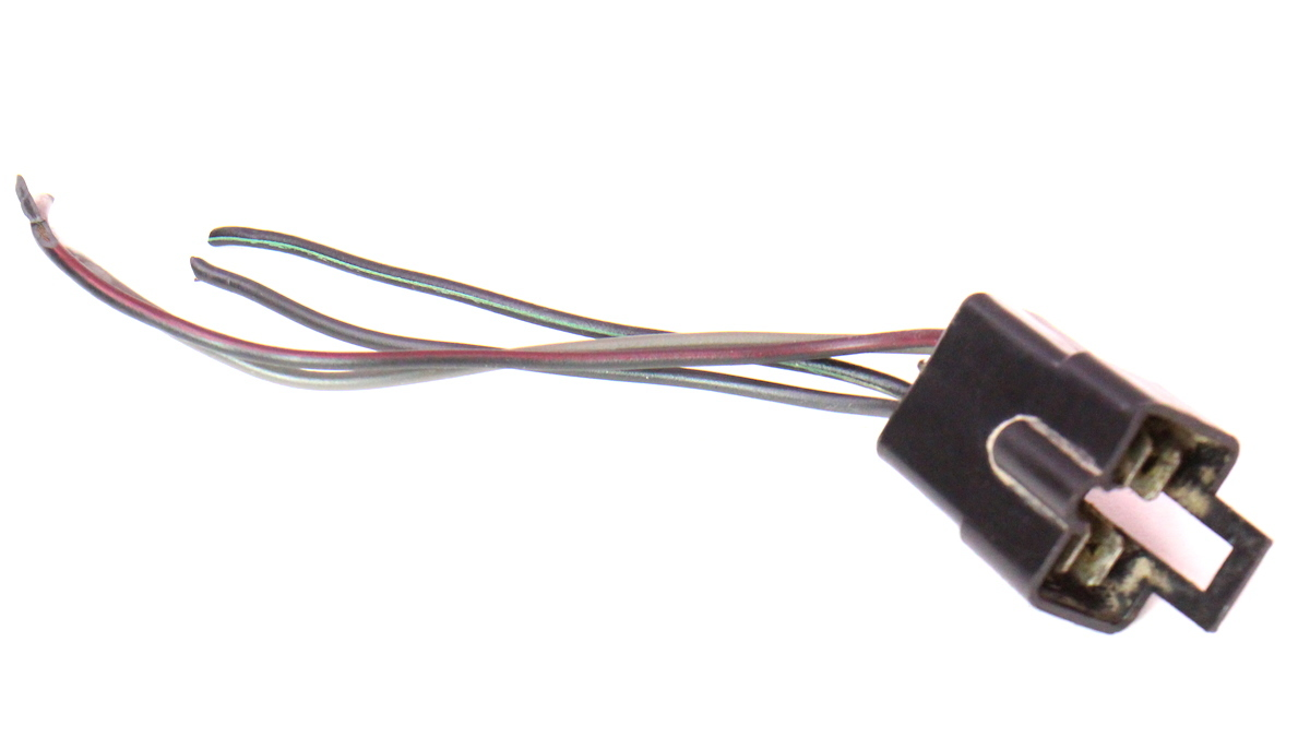 cp044000 rh tail light lamp wiring pigtail plug harness 80 83 vw rabbit pickup caddy mk1 rh tail light lamp wiring pigtail plug harness 80 83 vw rabbit Tail Light Pigtail Connector at mifinder.co