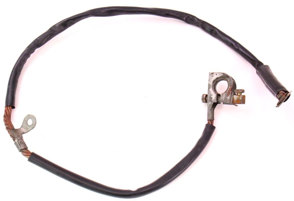 negative battery cable terminal wiring harness 81 84 vw jetta rabbit mk1 carparts4sale inc