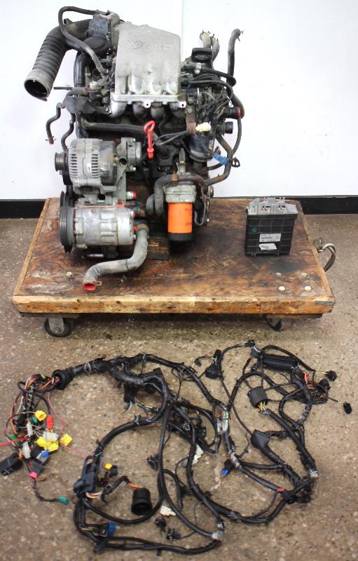 Cp Aba Engine Motor Swap Vw Jetta Golf Gti Cabrio Mk Mk Mk W Ecu Wiring