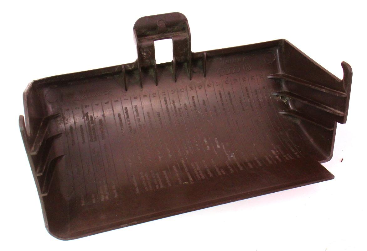 Fuse Box Door : Brown fuse box door cover trim vw vanagon t