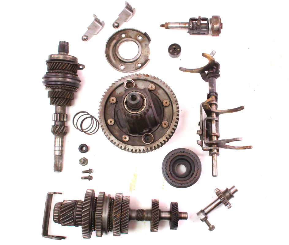 Volkswagen Parts Usa: 020 Transmission Internal Parts Gears Differential ACN VW