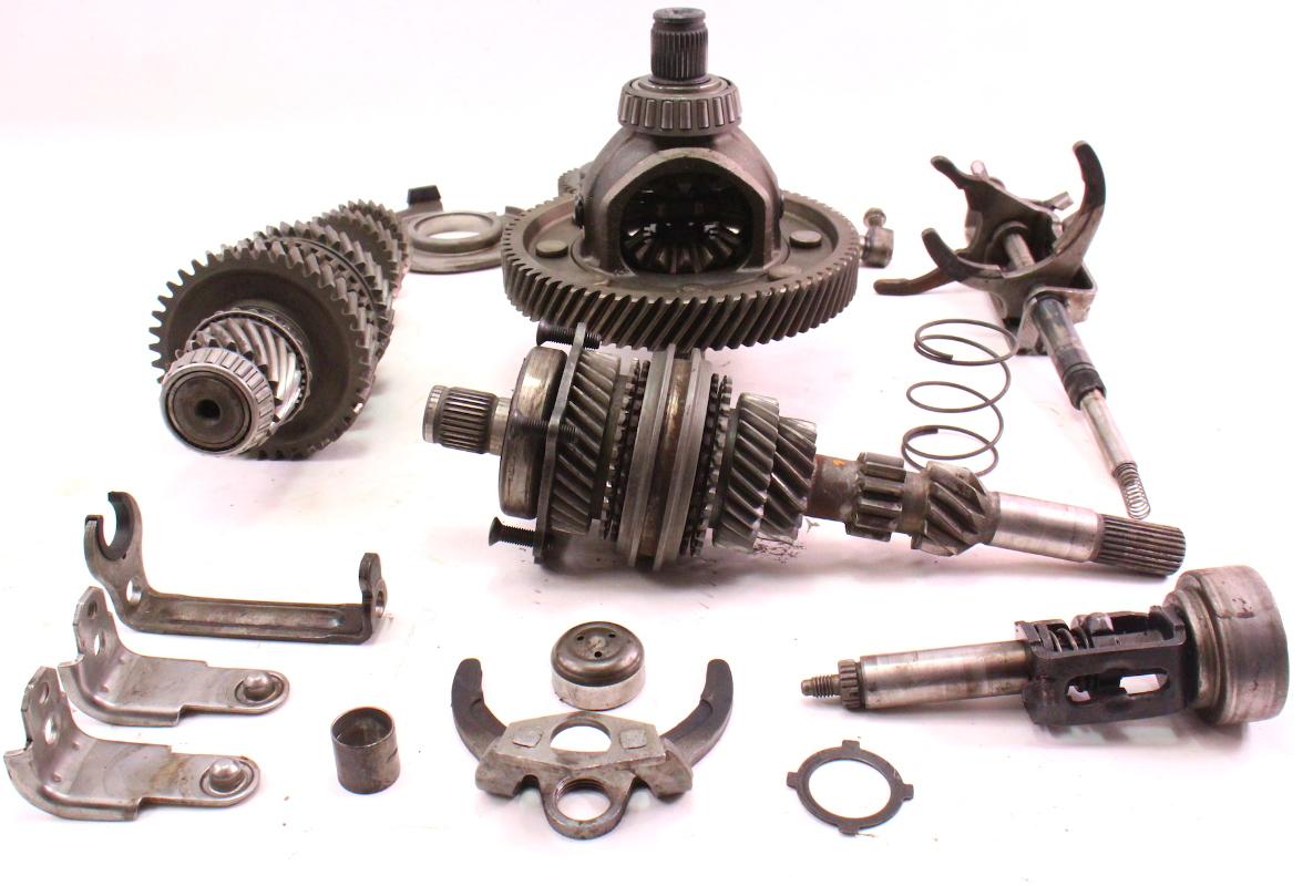 transmission internal parts gears differential forks fn vw jetta rabbit mk carpartssale
