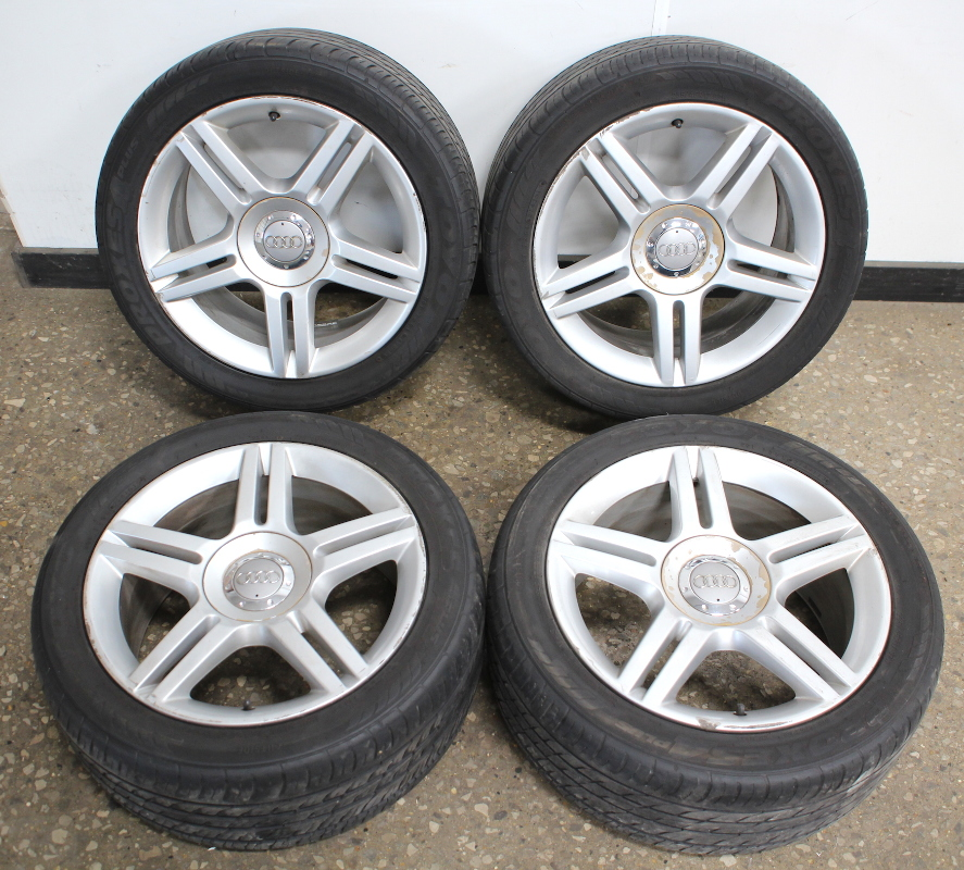 "Set Of 4 17"" X 7.5"" Alloy Wheel Rims 05-08 Audi A4 B7 With"